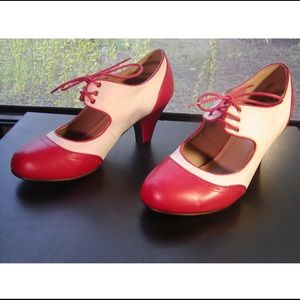 Graham St. Rockabilly Shoes from ModCloth!! Sz 10